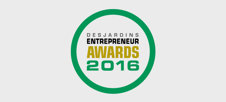 Logiag, regional winner of the 2016 Desjardins Entrepreneur Awards