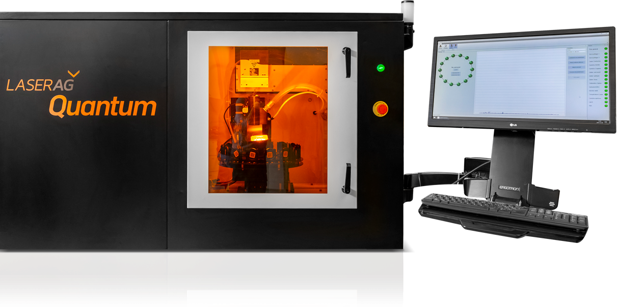 LaserAg Quantum machine