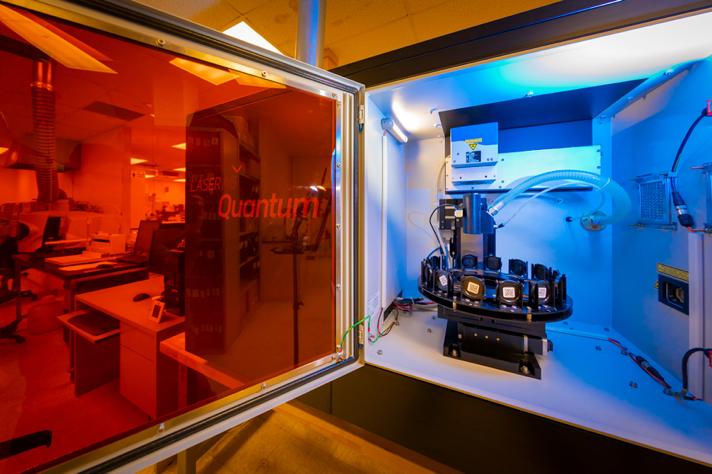 LaserAg Spectroscopy