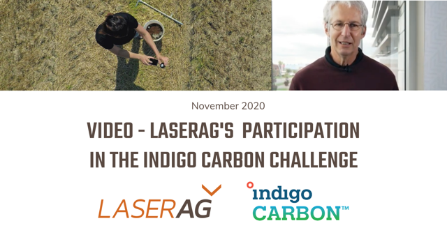 VIDEO: LaserAg participation in the Indigo Carbon Challenge